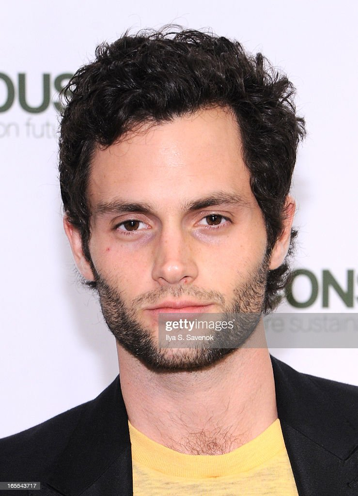 Actor <a gi-track='captionPersonalityLinkClicked' href=/galleries/search?phrase=Penn+Badgley&family=editorial&specificpeople=544488 ng-click='$event.stopPropagation()'>Penn Badgley</a> attends the H&M's Conscious Collection Launch Event at H&M Fifth Avenue on April 4, 2013 in New York City.