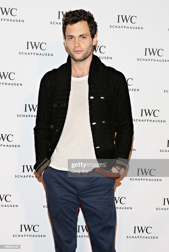 Actor <a gi-track='captionPersonalityLinkClicked' href=/galleries/search?phrase=Penn+Badgley&family=editorial&specificpeople=544488 ng-click='$event.stopPropagation()'>Penn Badgley</a> attends the IWC and Tribeca Film Festival 'For the Love of Cinema' celebration at Urban Zen on April 18, 2013 in New York City.