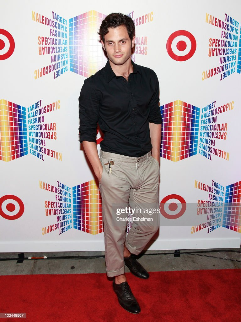Actor Penn Badgley attends the Target Kaleidoscopic Fashion Spectacular exclusive VIP viewing party at The Standard on August 18, 2010 in New York City.