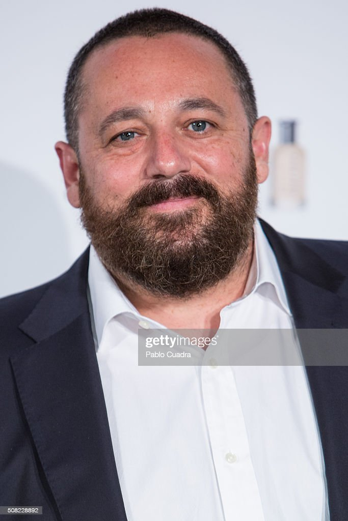 Actor Pepon Nieto attends the 'Man of Today' campaign photocall at the Eurobuilding Hotel on February 3, 2016 in Madrid, Spain.
