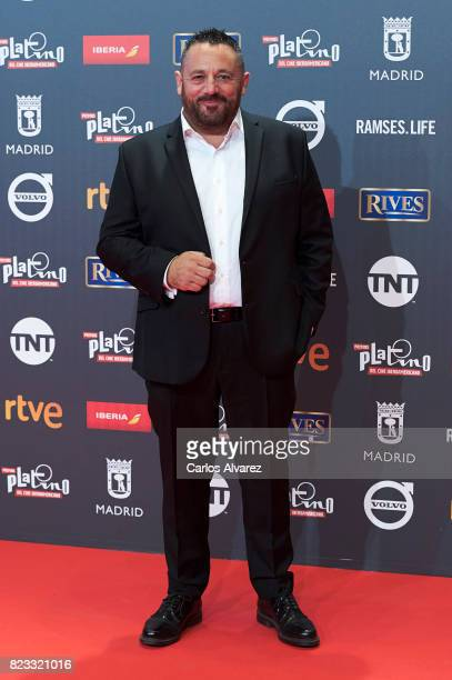 Actor Pepon Nieto attends the Platino Awards 2017 photocall at the La Caja Magica on July 22 2017 in Madrid Spain