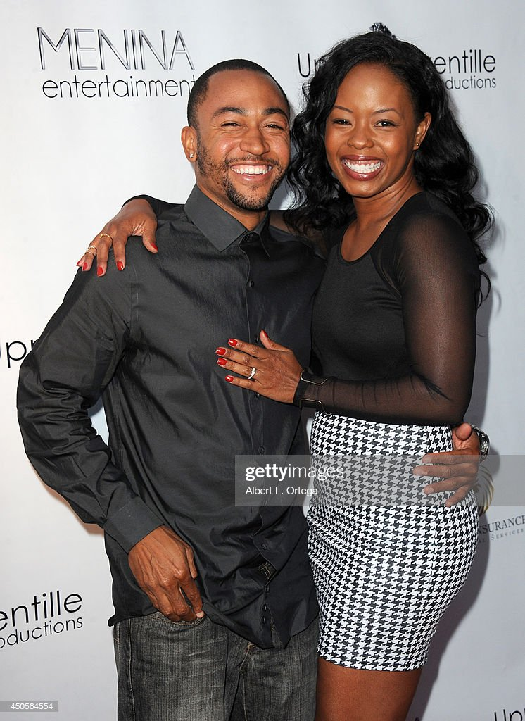 Actor <a gi-track='captionPersonalityLinkClicked' href=/galleries/search?phrase=Percy+Daggs+III&family=editorial&specificpeople=725957 ng-click='$event.stopPropagation()'>Percy Daggs III</a> and actress Jontilld Gerard arrive for the Premiere Of Upper Laventille's'Murder 101' held at Raleigh Studios' Chaplin Theater on June 12, 2014 in Los Angeles, California.
