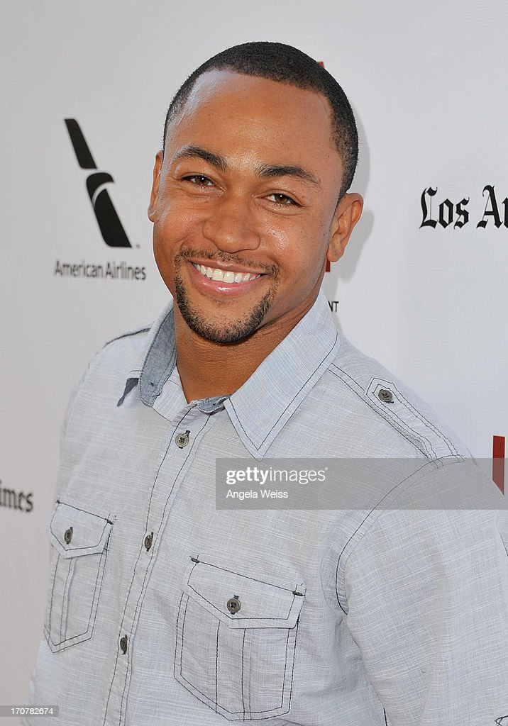 Actor <a gi-track='captionPersonalityLinkClicked' href=/galleries/search?phrase=Percy+Daggs+III&family=editorial&specificpeople=725957 ng-click='$event.stopPropagation()'>Percy Daggs III</a> arrives at the premiere of The Weinstein Company's 'Fruitvale Station' during the 2013 Los Angeles Film Festival at Regal Cinemas L.A. Live on June 17, 2013 in Los Angeles, California.
