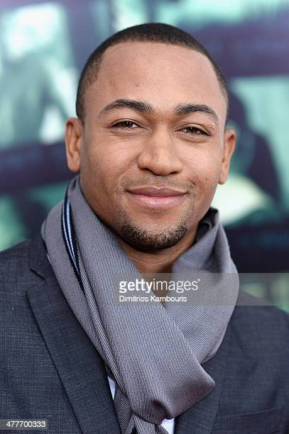 Actor Percy Daggs III attends the 'Veronica Mars' screening at AMC Loews Lincoln Square on March 10 2014 in New York City