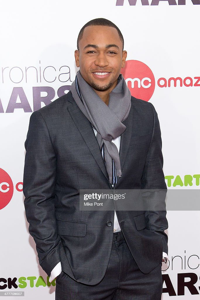 Actor <a gi-track='captionPersonalityLinkClicked' href=/galleries/search?phrase=Percy+Daggs+III&family=editorial&specificpeople=725957 ng-click='$event.stopPropagation()'>Percy Daggs III</a> attends the 'Veronica Mars' screening at AMC Loews Lincoln Square on March 10, 2014 in New York City.