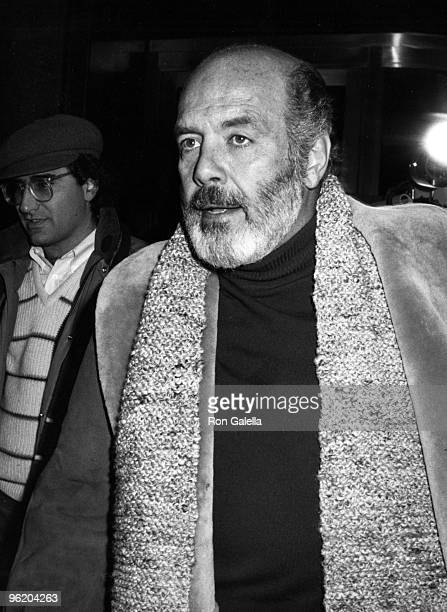 Actor Pernell Roberts attends the rehearsals for Night of 100 Stars Gala on February 13 1982 at the Helmsley Palace Hotel in New York City
