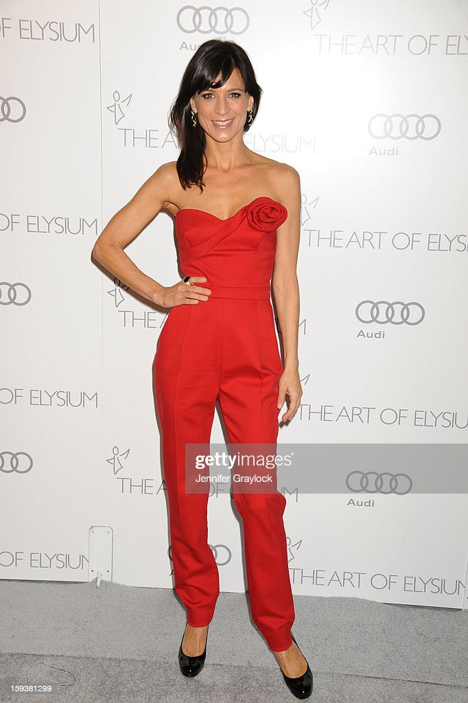 Actor Perrey Reeves attends the Art Of Elysium's 6th Annual Heaven Gala held at the 2nd Street Tunnel on Saturday, January 12, 2013 in Los Angeles, California.