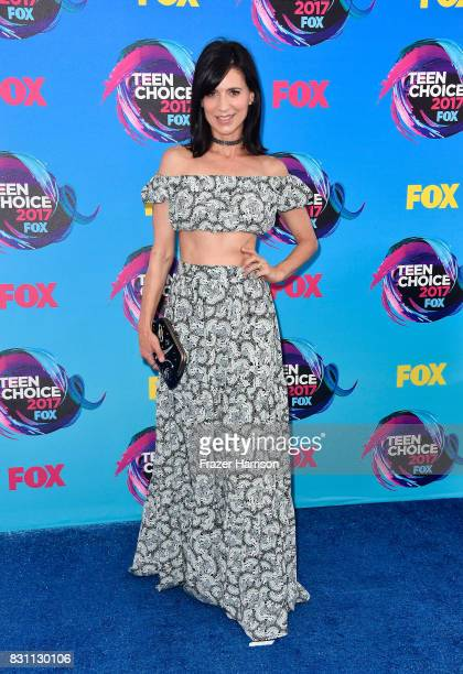Actor Perrey Reeves attends the Teen Choice Awards 2017 at Galen Center on August 13 2017 in Los Angeles California