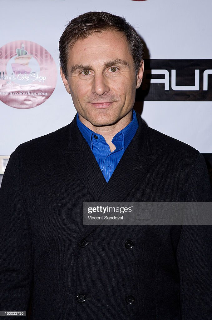 Actor Peter Arpesella attends the premiere of 'Vishwaroopam' at Pacific Theaters at the Grove on January 24, 2013 in Los Angeles, California.
