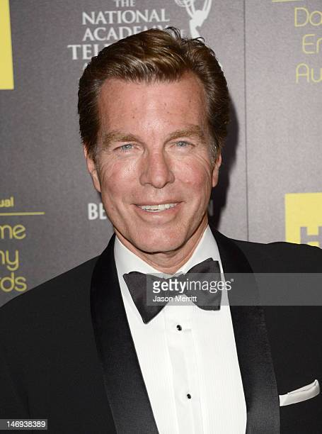 Actor Peter Bergman arrives at The 39th Annual Daytime Emmy Awards broadcasted on HLN held at The Beverly Hilton Hotel on June 23 2012 in Beverly...