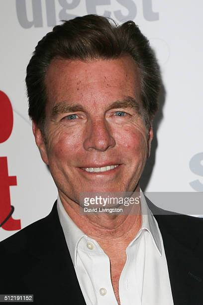 Actor Peter Bergman arrives at the 40th Anniversary of the Soap Opera Digest at The Argyle on February 24 2016 in Hollywood California