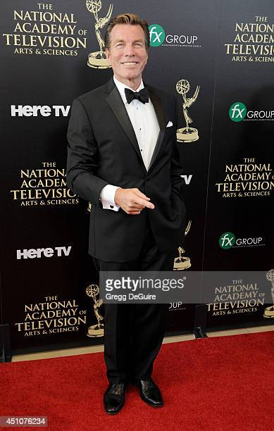 Actor Peter Bergman arrives at the 41st Annual Daytime Emmy Awards at The Beverly Hilton Hotel on June 22 2014 in Beverly Hills California