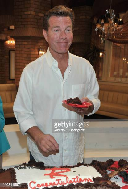 Actor Peter Bergman attends CBS' 'Young and the Restless' 38th Anniversary cake cutting on March 24 2011 in Los Angeles California