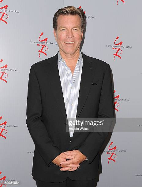 Actor Peter Bergman attends the 40 years of 'The Young and The Restless' celebration presented by SAGAFTRA at SAGAFTRA on June 4 2013 in Los Angeles...