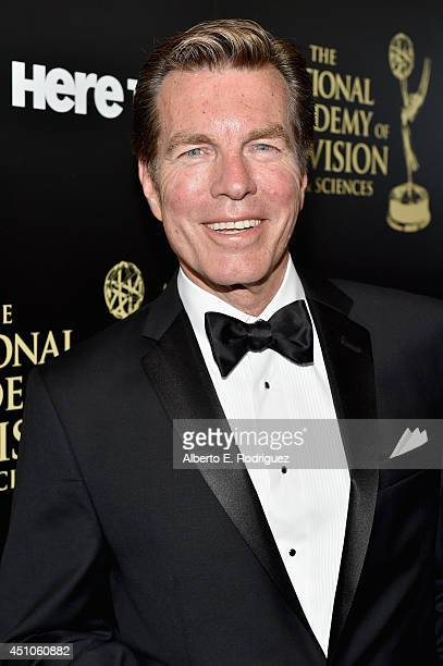 Actor Peter Bergman attends The 41st Annual Daytime Emmy Awards at The Beverly Hilton Hotel on June 22 2014 in Beverly Hills California