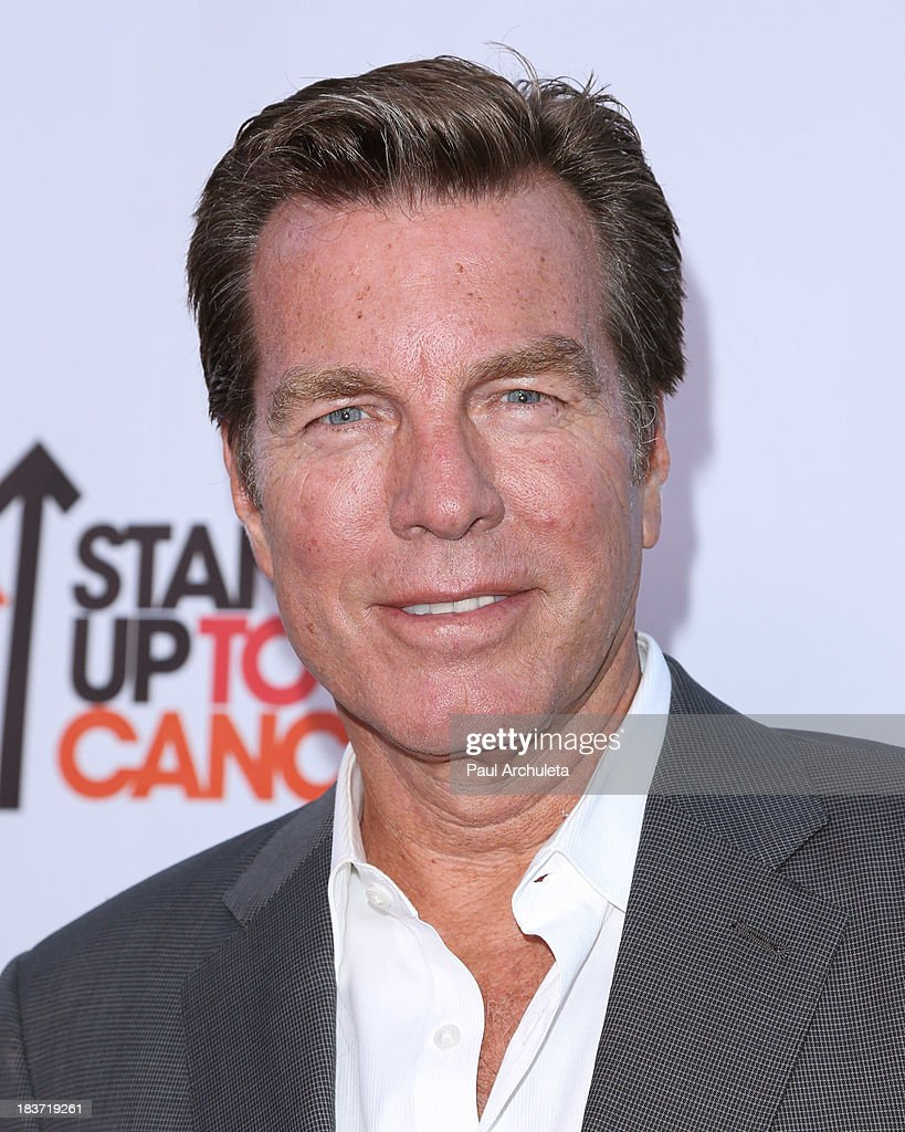 Actor <a gi-track='captionPersonalityLinkClicked' href=/galleries/search?phrase=Peter+Bergman&family=editorial&specificpeople=214085 ng-click='$event.stopPropagation()'>Peter Bergman</a> attends the CBS After Dark with an evening of laughter benefiting Stand Up To Cancer at The Comedy Store on October 8, 2013 in West Hollywood, California.