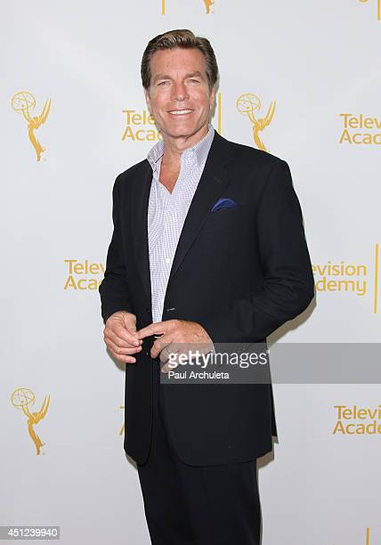 Actor Peter Bergman attends the Daytime Emmy Nominee Reception at The London West Hollywood on June 19 2014 in West Hollywood California