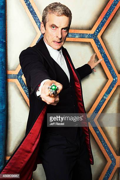 Actor Peter Capaldi is photographed for Entertainment Weekly Magazine on June 17 2014 in London England