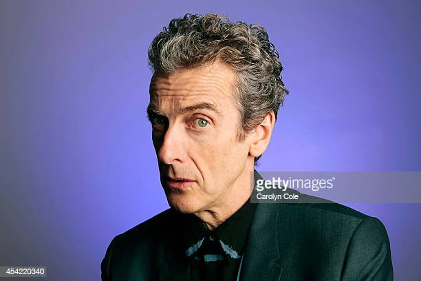 Actor Peter Capaldi is photographed for Los Angeles Times on August 13 2014 in New York City PUBLISHED IMAGE CREDIT MUST BE Carolyn Cole/Los Angeles...