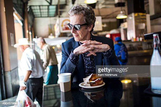 Actor Peter Capaldi is photographed for Los Angeles Times on July 13 2015 in Los Angeles California PUBLISHED IMAGE CREDIT MUST READ Kent Nishimura/...