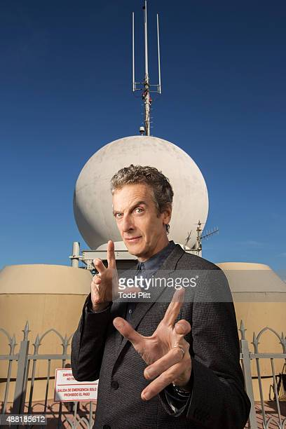Actor Peter Capaldi is photographed for USA Today on August 15 2014 in New York City PUBLISHED IMAGE