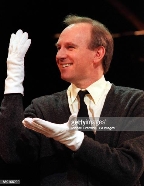 Actor Peter Davison as 'Amos Hart' during a photocall for the hit West End musical 'Chicago' Davison is one of three new cast members who joined the...