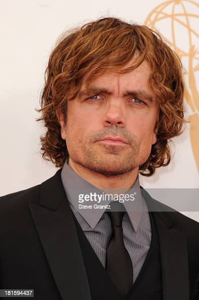Actor Peter Dinklage arrives at the 65th Annual Primetime Emmy Awards held at Nokia Theatre LA Live on September 22 2013 in Los Angeles California