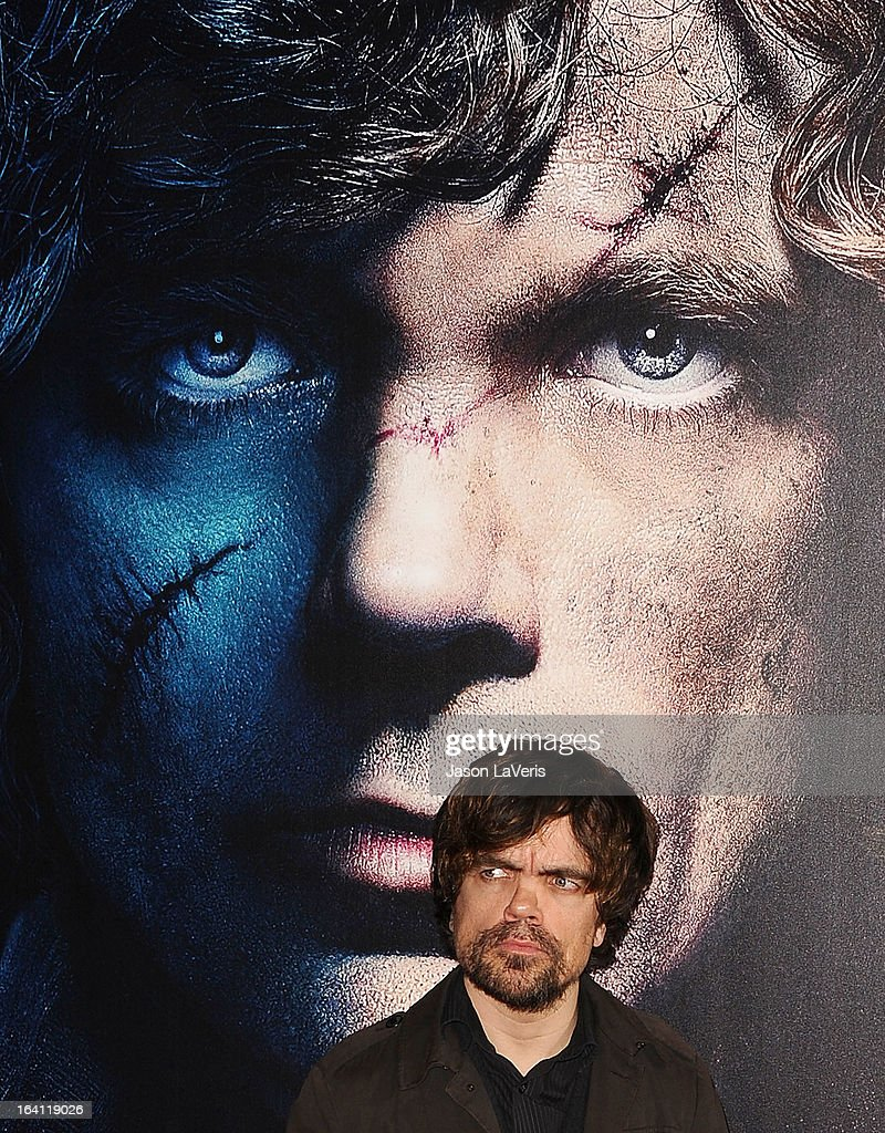 Actor <a gi-track='captionPersonalityLinkClicked' href=/galleries/search?phrase=Peter+Dinklage&family=editorial&specificpeople=215147 ng-click='$event.stopPropagation()'>Peter Dinklage</a> attends an evening with 'Game Of Thrones' at TCL Chinese Theatre on March 19, 2013 in Hollywood, California.