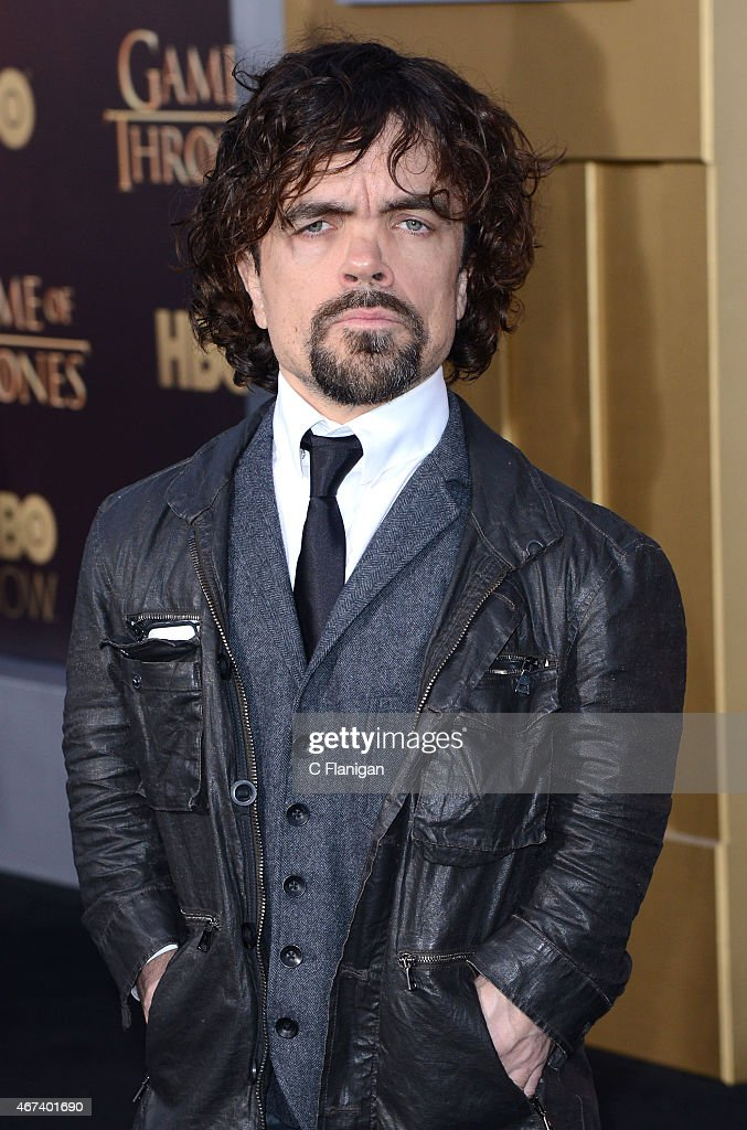 Actor Peter Dinklage attends HBO's 'Game of Thrones' Season 5 Premiere at the San Francisco War Memorial Opera House on March 23 2015 in San...