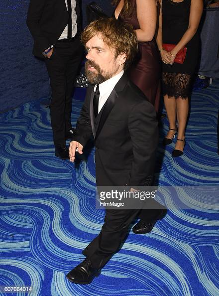 Actor Peter Dinklage attends HBO's Official 2016 Emmy After Party at The Plaza at the Pacific Design Center on September 18 2016 in Los Angeles...