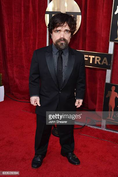 Actor Peter Dinklage attends The 23rd Annual Screen Actors Guild Awards at The Shrine Auditorium on January 29 2017 in Los Angeles California