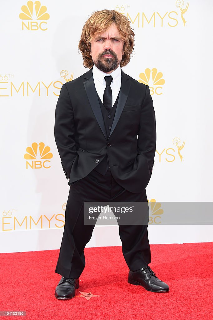 Actor Peter Dinklage attends the 66th Annual Primetime Emmy Awards held at Nokia Theatre LA Live on August 25 2014 in Los Angeles California