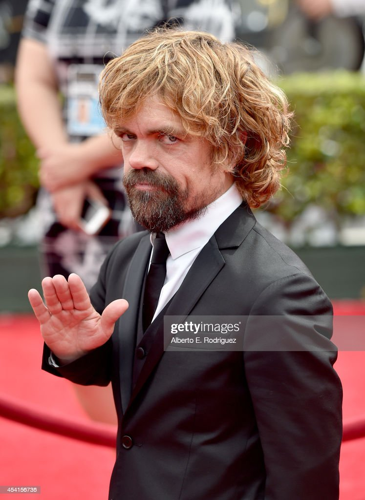 Actor Peter Dinklage attends the 66th Annual Primetime Emmy Awards held at the Nokia Theatre LA Live on August 25 2014 in Los Angeles California
