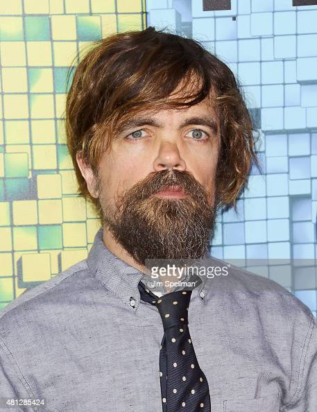 Actor Peter Dinklage attends the 'Pixels' New York premiere at Regal EWalk on July 18 2015 in New York City