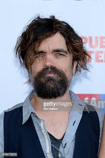Actor Peter Dinklage attends The Public Theater's Annual Gala at Delacorte Theater on June 9 2015 in New York City
