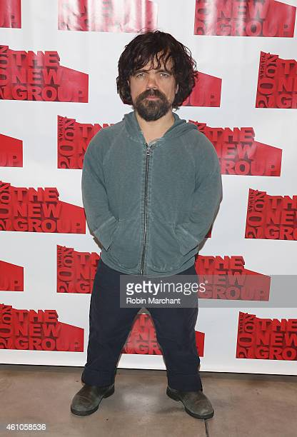 Actor Peter Dinklage attends 'Things We Want' Original Cast Benefit Reading at Signature Theatre Company's The Pershing Square Signature Center on...