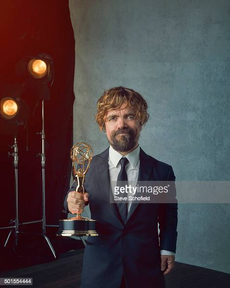 Actor Peter Dinklage is photographed for Emmy magazine on September 20 2015 in Los Angeles California