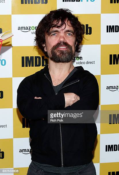 Actor Peter Dinklage recipient of the STARmeter Award attends The IMDb STARmeter Award Ceremony The Amazon Video Direct Inaugural Filmmaker Awards...