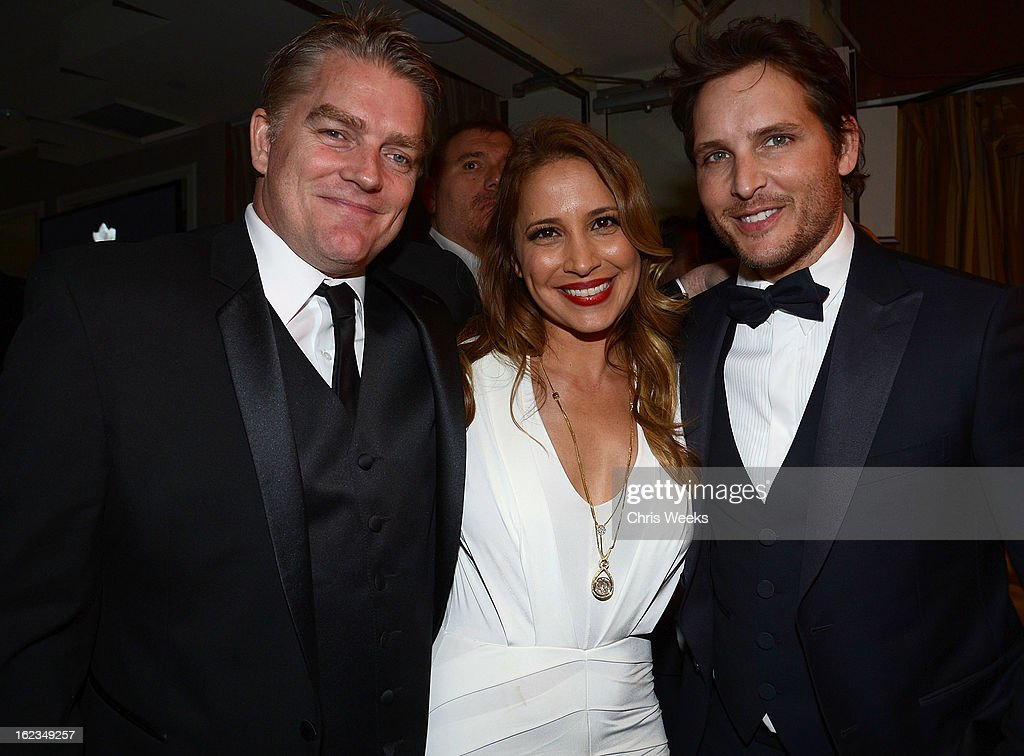 Actor <a gi-track='captionPersonalityLinkClicked' href=/galleries/search?phrase=Peter+Facinelli&family=editorial&specificpeople=233464 ng-click='$event.stopPropagation()'>Peter Facinelli</a> and Daya Fernandez attends the Hollywood Domino and Bovet 1822 Gala benefiting Artists For Peace And Justice at Sunset Tower on February 21, 2013 in West Hollywood, California.