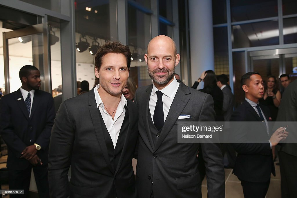 Actor Peter Facinelli and Vice President & Publisher at GQ Chris Mitchell attend the 2013 GQ Gentlemen's Ball presented by BMW i, Movado, and Nautica at IAC Building on October 23, 2013 in New York City.