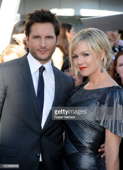 Actor Peter Facinelli and wife Jennie Garth arrives at the premiere of Summit Entertainment's 'The Twilight Saga Eclipse' during the 2010 Los Angeles...