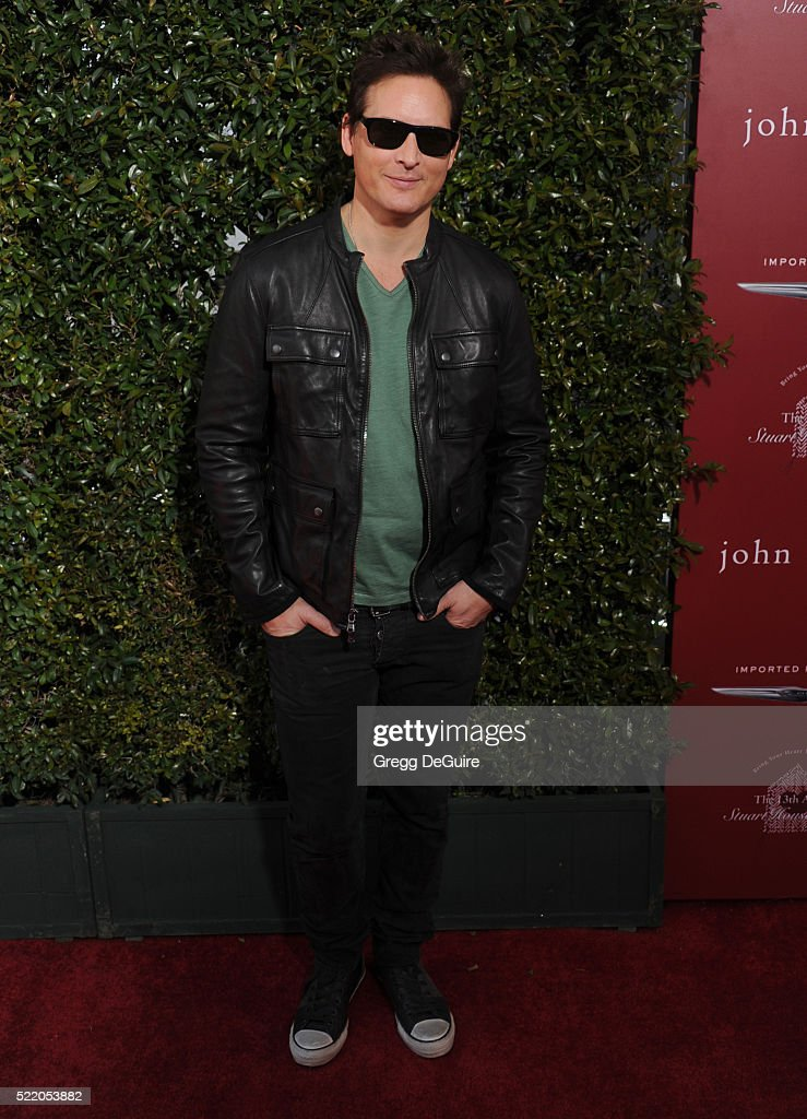 Actor Peter Facinelli arrives at the 13th Annual Stuart House Benefit at John Varvatos on April 17, 2016 in Los Angeles, California.