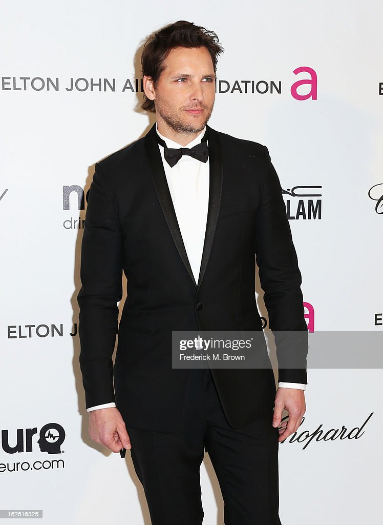 Actor Peter Facinelli arrives at the 21st Annual Elton John AIDS Foundation's Oscar Viewing Party on February 24, 2013 in Los Angeles, California.