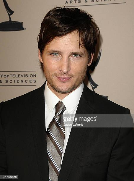 Actor Peter Facinelli attends an evening with 'Nurse Jackie' at Leonard H Goldenson Theatre on March 15 2010 in North Hollywood California