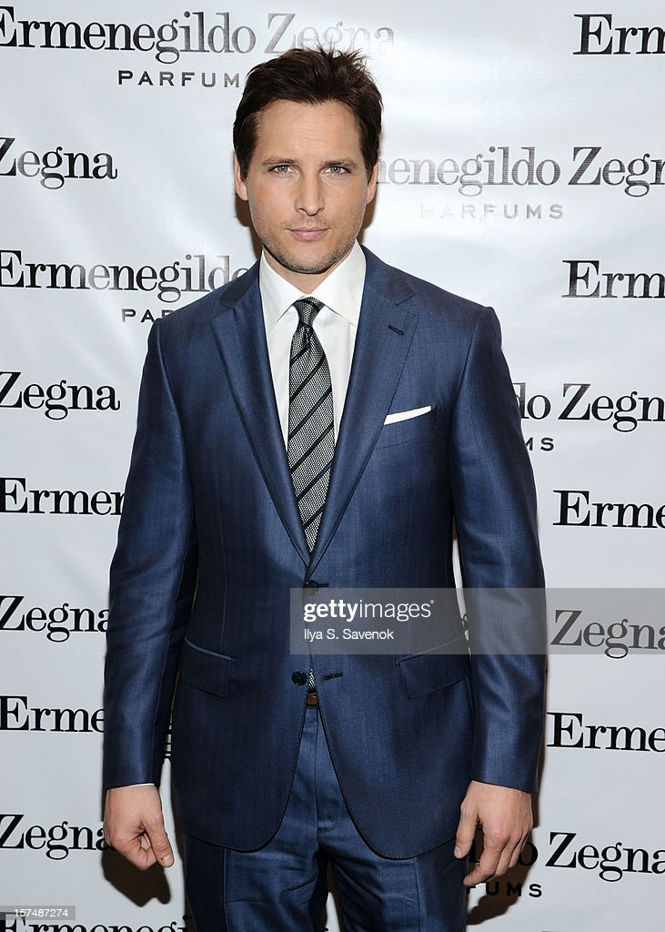Actor Peter Facinelli attends Ermenegildo Zegna 'Essenze' Collection Launch Event at The Ermenegildo Zegna Boutique on December 3, 2012 in New York City.