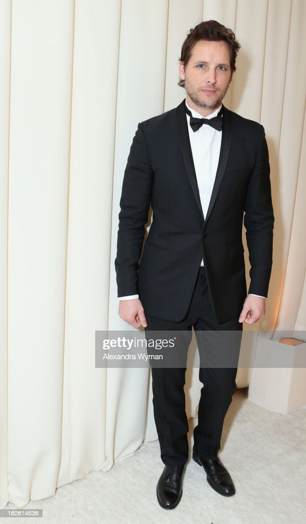 Actor Peter Facinelli attends Grey Goose at 21st Annual Elton John AIDS Foundation Academy Awards Viewing Party at West Hollywood Park on February 24, 2013 in West Hollywood, California.