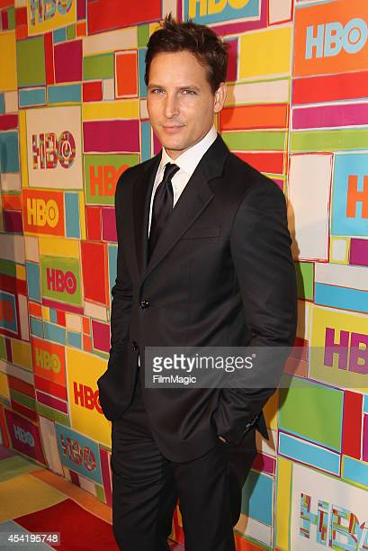 Actor Peter Facinelli attends HBO's Official 2014 Emmy After Party at The Plaza at the Pacific Design Center on August 25 2014 in Los Angeles...