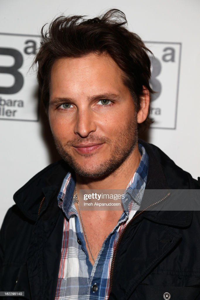 Actor <a gi-track='captionPersonalityLinkClicked' href=/galleries/search?phrase=Peter+Facinelli&family=editorial&specificpeople=233464 ng-click='$event.stopPropagation()'>Peter Facinelli</a> attends Kari Feinstein's Pre-Academy Awards Style Lounge at W Hollywood on February 21, 2013 in Hollywood, California.