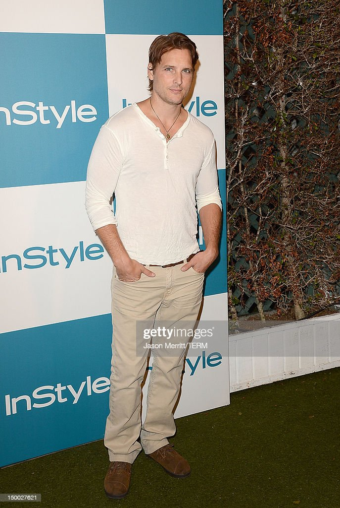 Actor Peter Facinelli attends the 11th annual InStyle summer soiree held at The London Hotel on August 8, 2012 in West Hollywood, California.