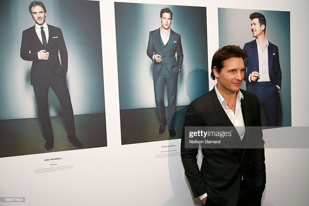 Actor Peter Facinelli attends the 2013 GQ Gentlemen's Ball presented by BMW i, Movado, and Nautica at IAC Building on October 23, 2013 in New York City.
